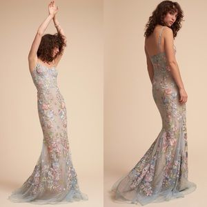 NEW Marchesa Notte BHLDN Cannes Fishtail Gown